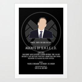 Agents of S.H.I.E.L.D. - Coulson Art Print