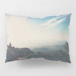 morning light on Mount Woodson, California Pillow Sham