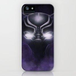 Black Panther - Cowl Portrait iPhone Case
