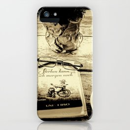 ...  coming to terms  ... iPhone Case