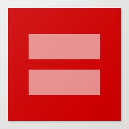 Equal Rights Canvas Print
