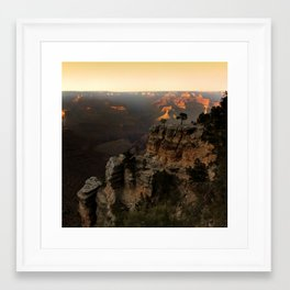 Grand Canyon Sunset Framed Art Print