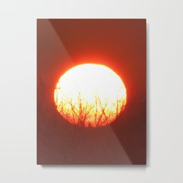 Photo by Yvain Geni / 2013 11 Milan Ovest Italy / Dawn...at the crack of daw... Metal Print