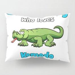 Komodo Dragon Shirt for Boys  Kids Komodo Dragon T-Shirt Pillow Sham