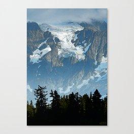 HANGING GLACIER ON MOUNT SHUKSAN Canvas Print