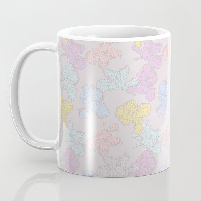 """""""Merci"""" (Irises pattern) Coffee Mug"""