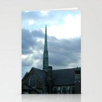 spires Stationery Cards featuring  Spires by Jean Ladzinski