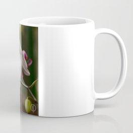White Purple Coffee Mug