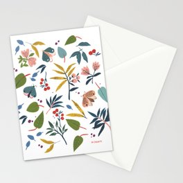 Moth Garden Stationery Cards