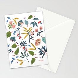 Moth Garden Stationery Cards