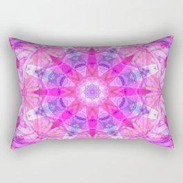 Pink Star Rectangular Pillow
