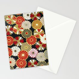 Golden Chrysanthemums Stationery Cards