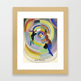 "Robert Delaunay ""Political Drama"" Framed Art Print"