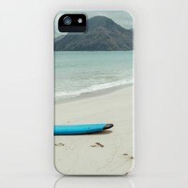 Lombok beach iPhone Case