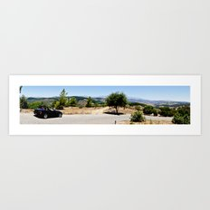 View from Lilac Rd. Art Print
