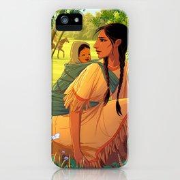 Sacagawea iPhone Case