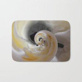 silken whirl abstract 3d digital painting Bath Mat