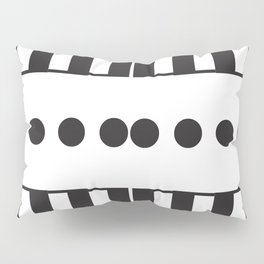 "Dot Your j's - The Didot ""j"" Project Pillow Sham"
