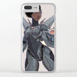 Swaptober Cyborg Clear iPhone Case