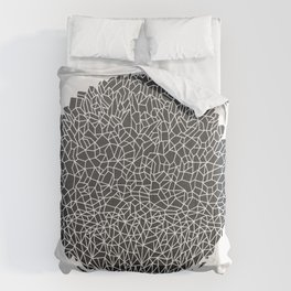 Black Sphere Comforters