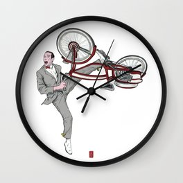 Pee Wee Herman #3 Wall Clock