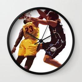Malcolm Brogdon Dunk on LeBron James Wall Clock