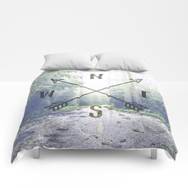 Forest Compass Comforters