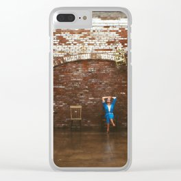 Musical Chairs Clear iPhone Case