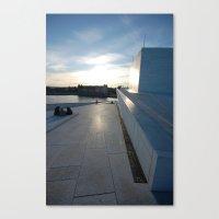 oslo Canvas Prints featuring Oslo by WattsvilleBlues