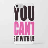 mean girls iPhone & iPod Cases featuring Mean Girls Quote by TurquoisedHearts