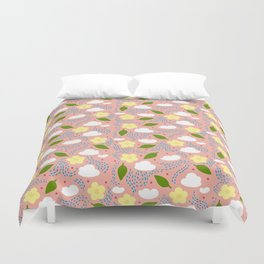 my favorite thing Duvet Cover
