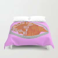 grace Duvet Covers featuring GRACE by Marukosu