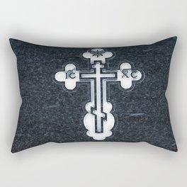 Russian Greek Orthodox Cross Rectangular Pillow