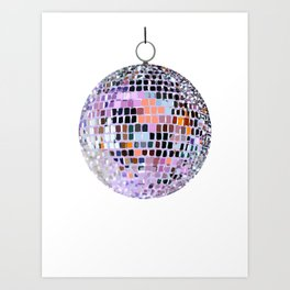 Let's Have a Disco Ball Art Print