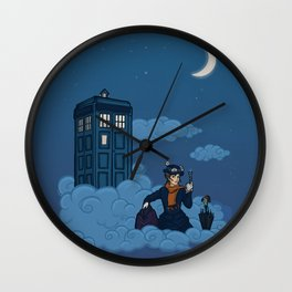 Nanny Who Wall Clock