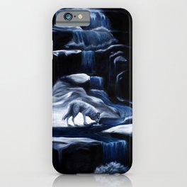 Drinking in the Moonlight iPhone Case
