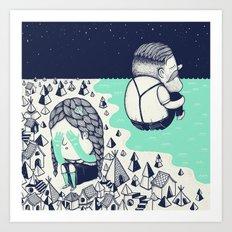 Departures Art Print