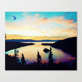 Emerald Bay State Park, South Lake Tahoe, United States Canvas Print