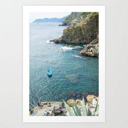 Riomaggiore, Cinque terre, Italy Art Print