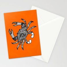 Fall Crab Stationery Cards
