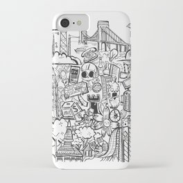 Travel with Pen,so? iPhone Case