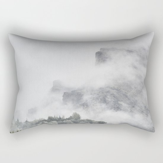 """""""The mountains are calling to me"""" Rectangular Pillow"""
