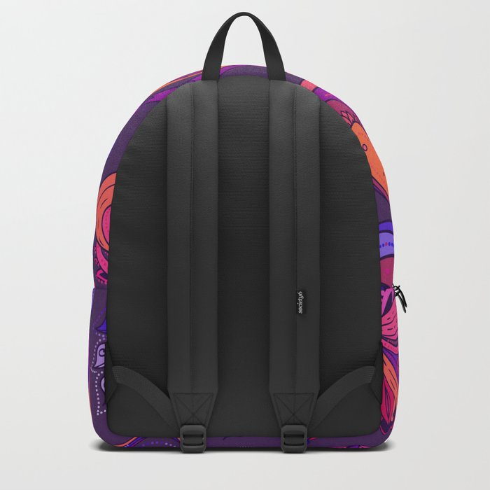 Indian Paisley Pattern 02 Backpack
