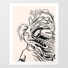 Errosion of Freedom Art Print
