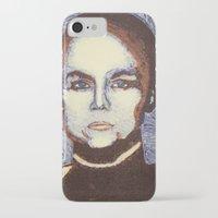 ripley iPhone & iPod Cases featuring Ellen Ripley- Alien by Evanne Deatherage