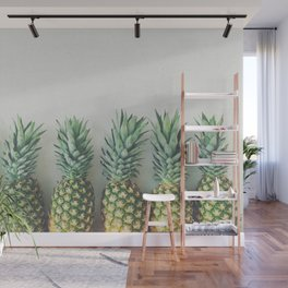 It's All About the Pineapple Wall Mural