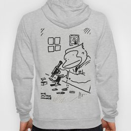 Ape Scientist with Microscope Hoody