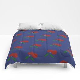 Poppy Flower Pattern Comforters