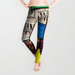 African American Masterpiece 'I Am A Man' Portrait Leggings