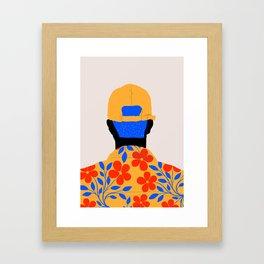 Come back Framed Art Print